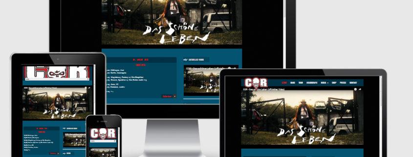Webdesign Cor Rügen
